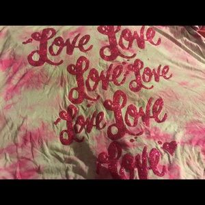 Juicy couture love large tshirt